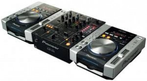 DJ KONSOLE PIONEER SYSTEM